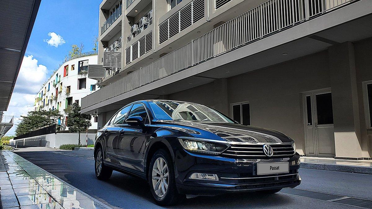 Hỗ trợ 100% phí trước bạ cho Volkswagen Passat.