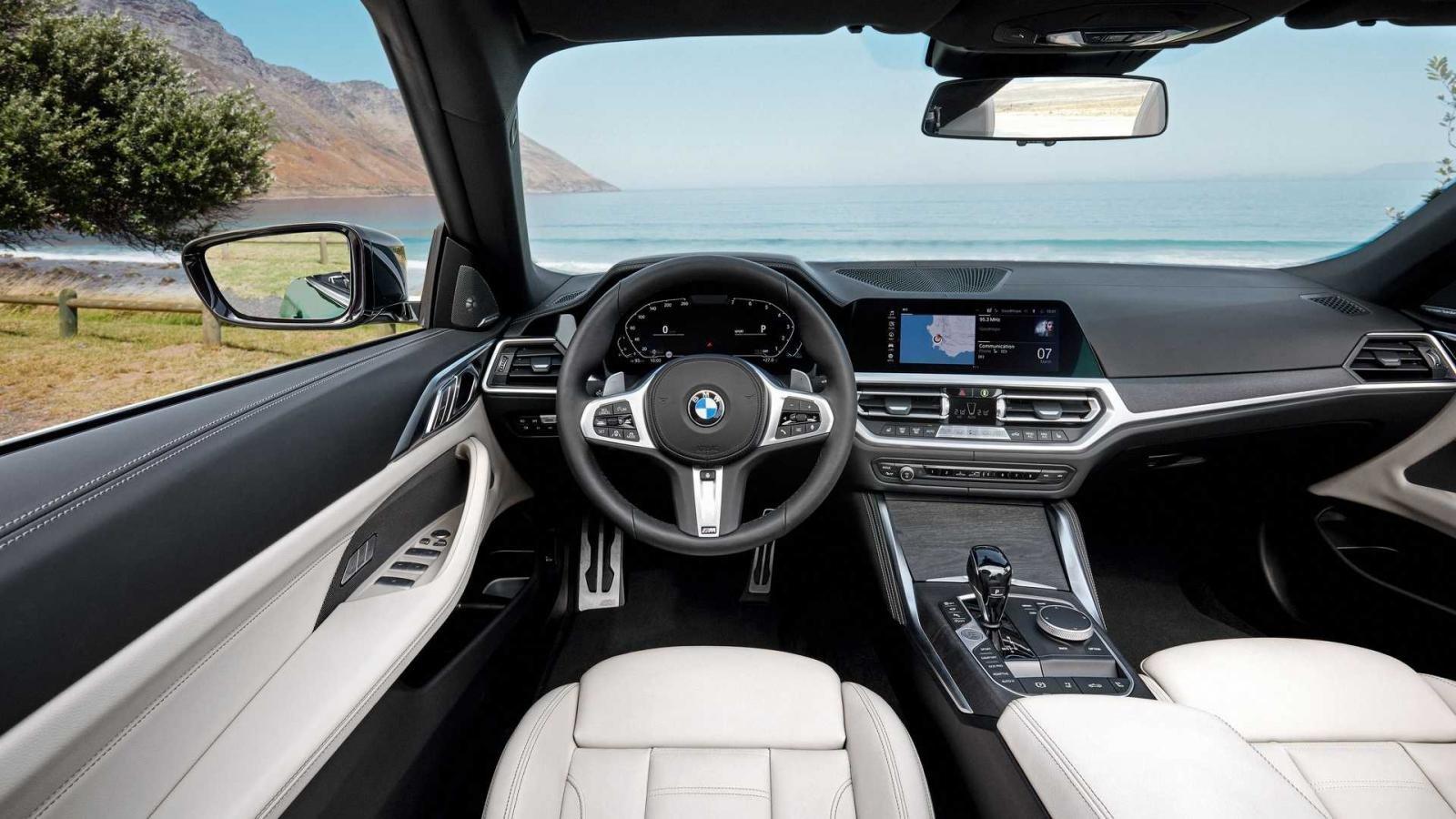 BMW 4-Series 2021 hiện đại và sang trọng.