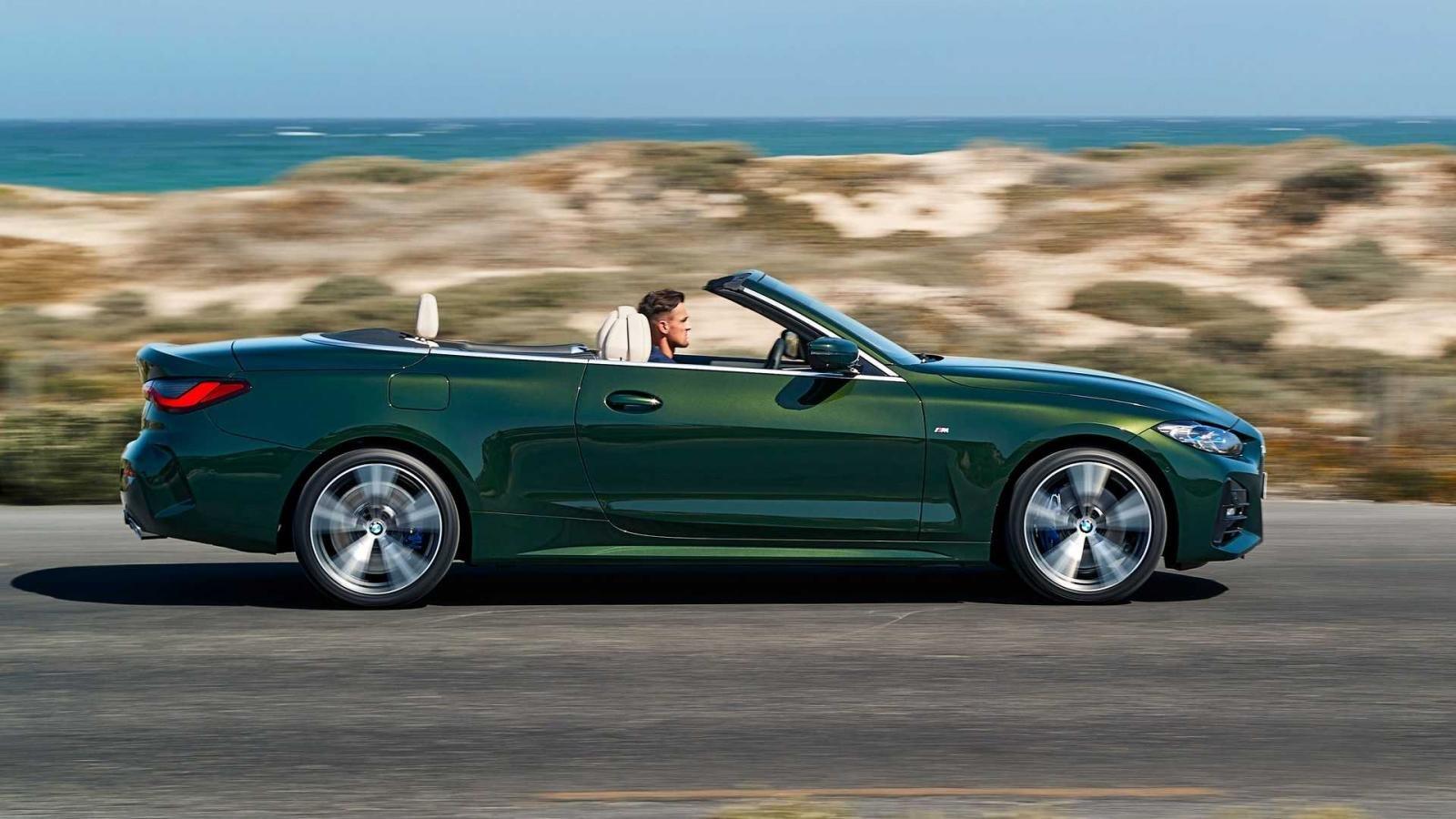 BMW 4-Series 2021 Convertible sở hữu nhiều biến thể truyền động.