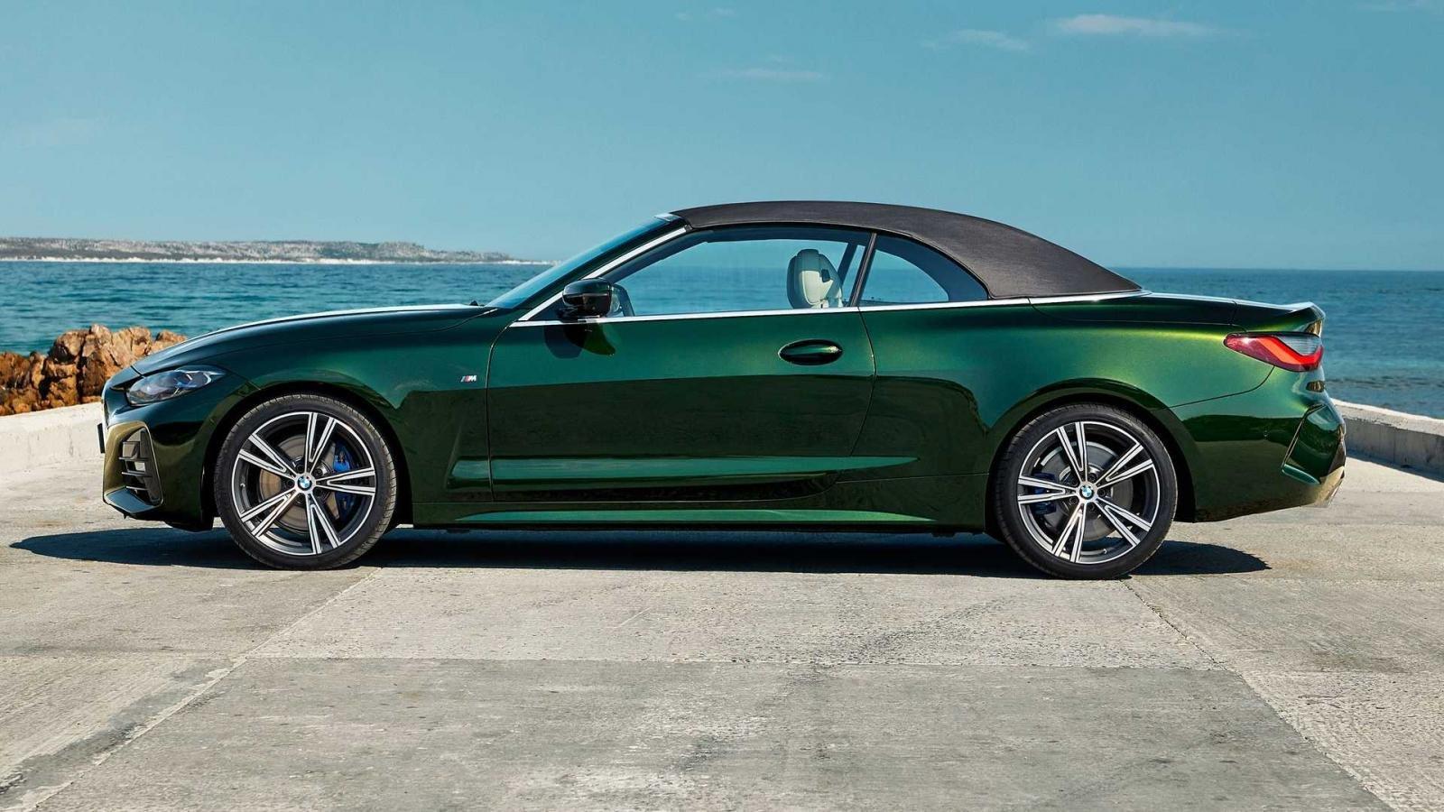 BMW 4-Series 2021 Convertible đảm bảo trải nghiệm lái tuyệt đỉnh.
