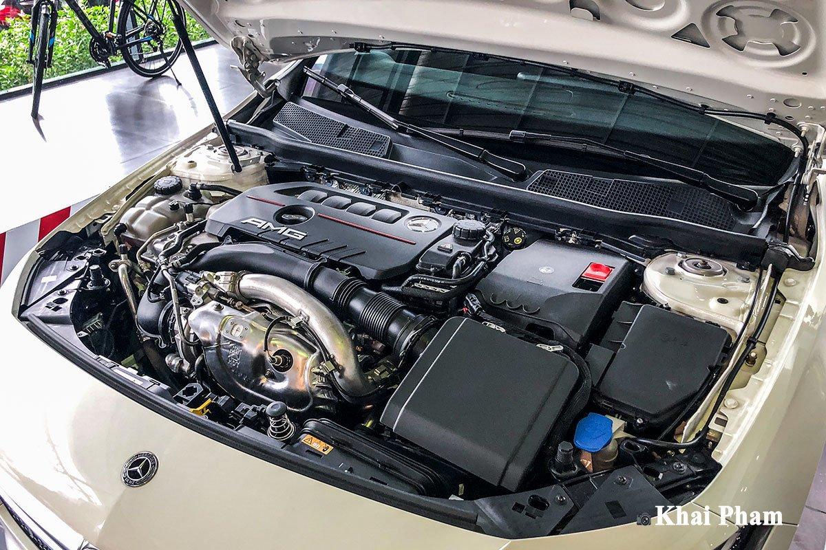 Ảnh Động cơ xe Mercedes-Benz A35 AMG 2020