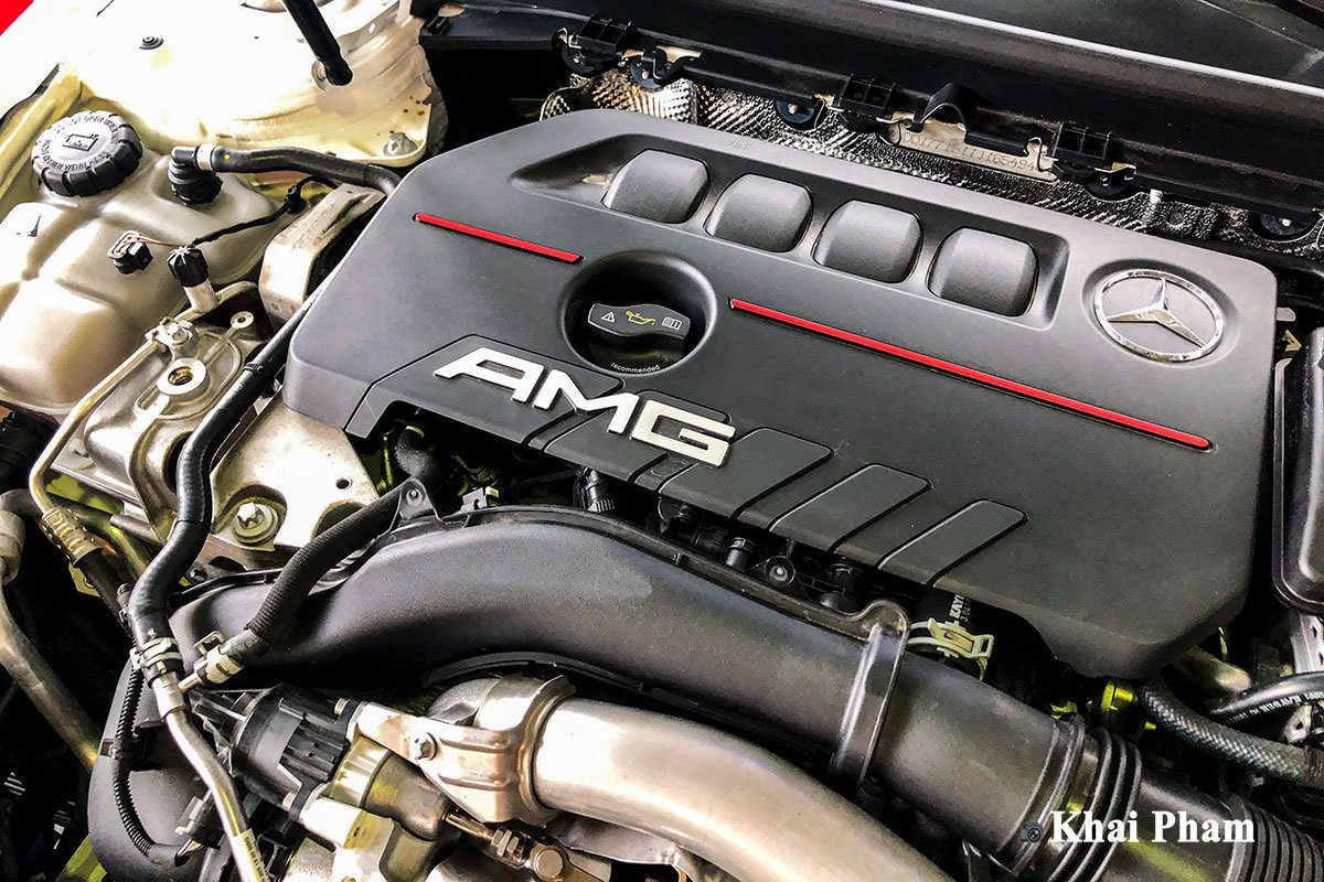 Ảnh Động cơ xe Mercedes-Benz A35 AMG 2020 a1
