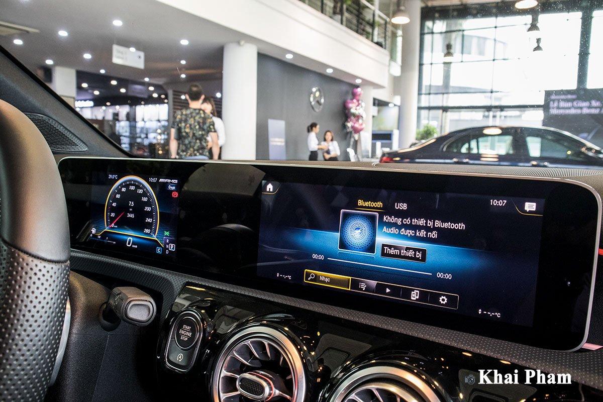 Ảnh Màn hình xe Mercedes-Benz A35 AMG 2020