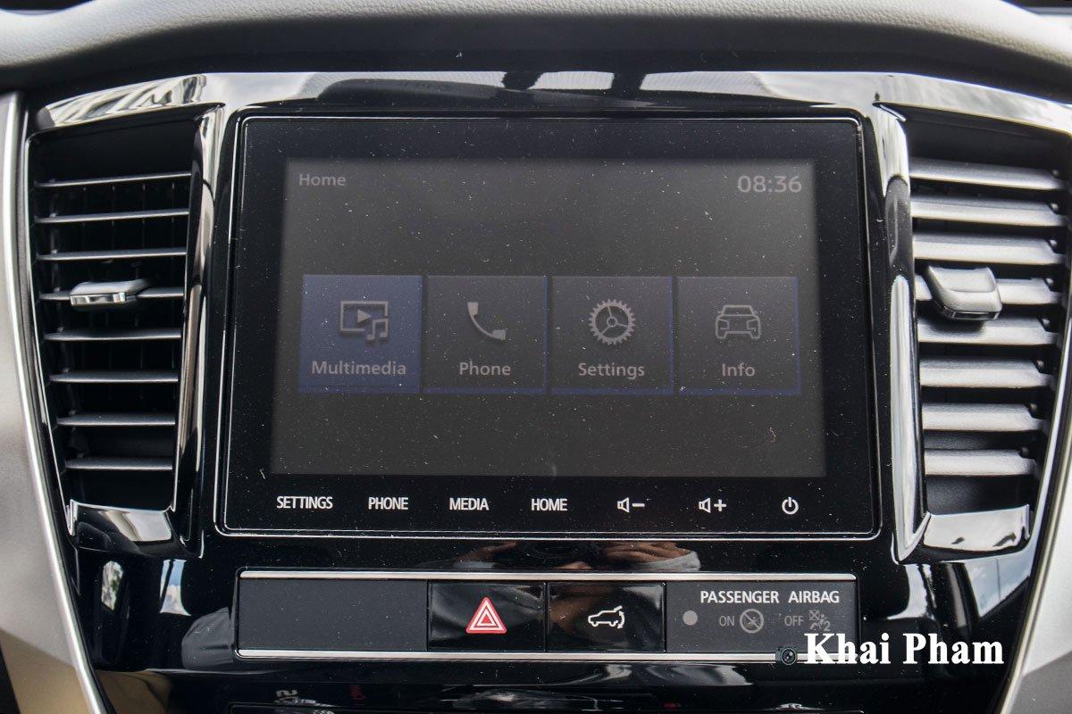 Ảnh Màn hình xe Mitsubishi Pajero Sport 2020