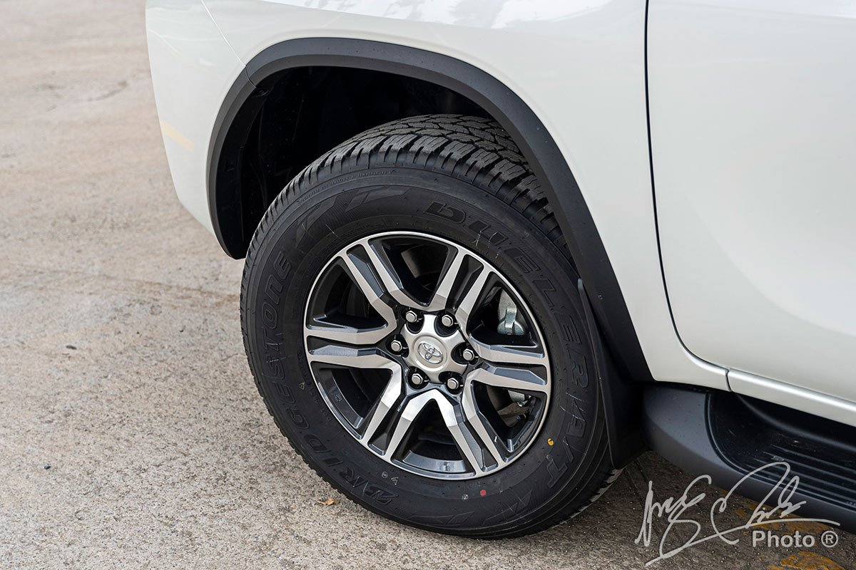 Mâm xe của Fortuner 2020.