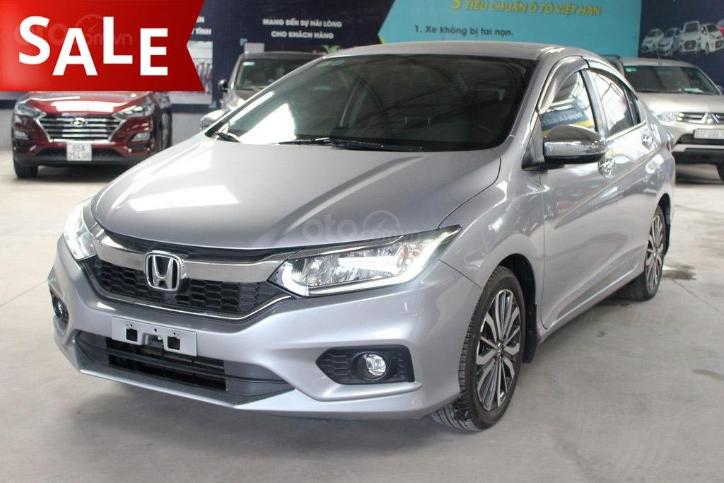 Honda City top 1.5AT 2018, màu bạc (1)