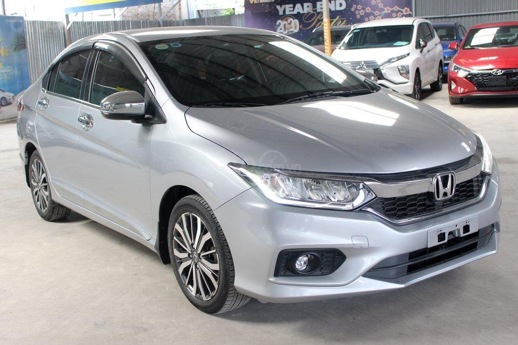 Honda City top 1.5AT 2018, màu bạc (2)