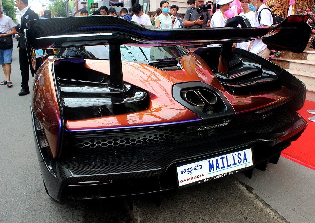 Siêu phẩm McLaren Senna gắn thêm