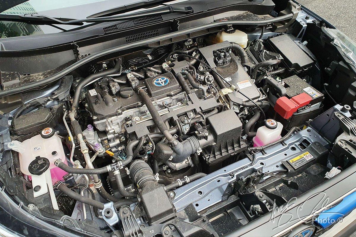 Động cơ Hybrid trên Toyota Corola Cross bản HV.