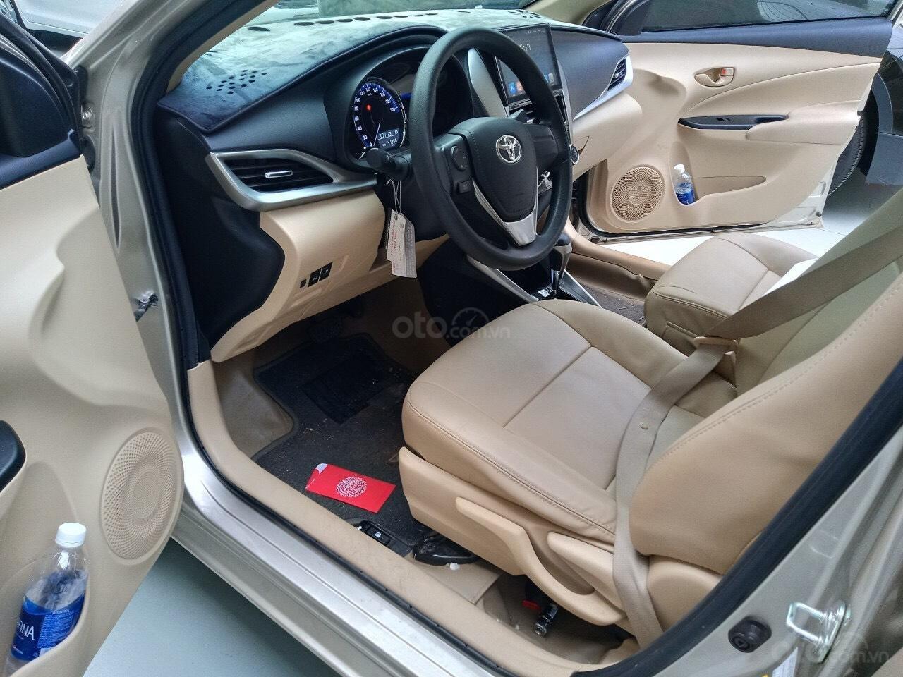 Xe Toyota Vios E 1.5 AT sản xuất cuối năm 2018 mẫu 2019, tự động, biển TP đẹp, lên full option, có trả góp (8)