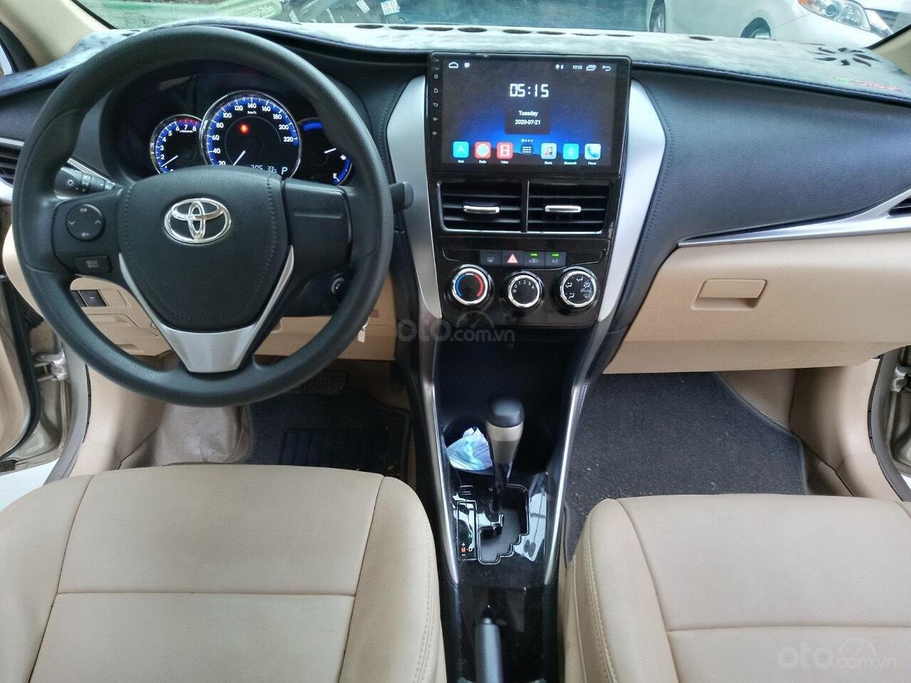 Xe Toyota Vios E 1.5 AT sản xuất cuối năm 2018 mẫu 2019, tự động, biển TP đẹp, lên full option, có trả góp (7)