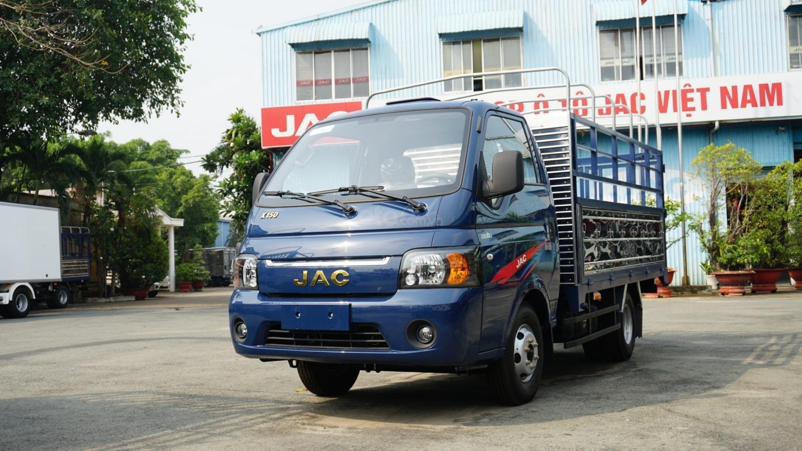 Bán ô tô JAC X150 đời 2019, màu xanh lam (1)