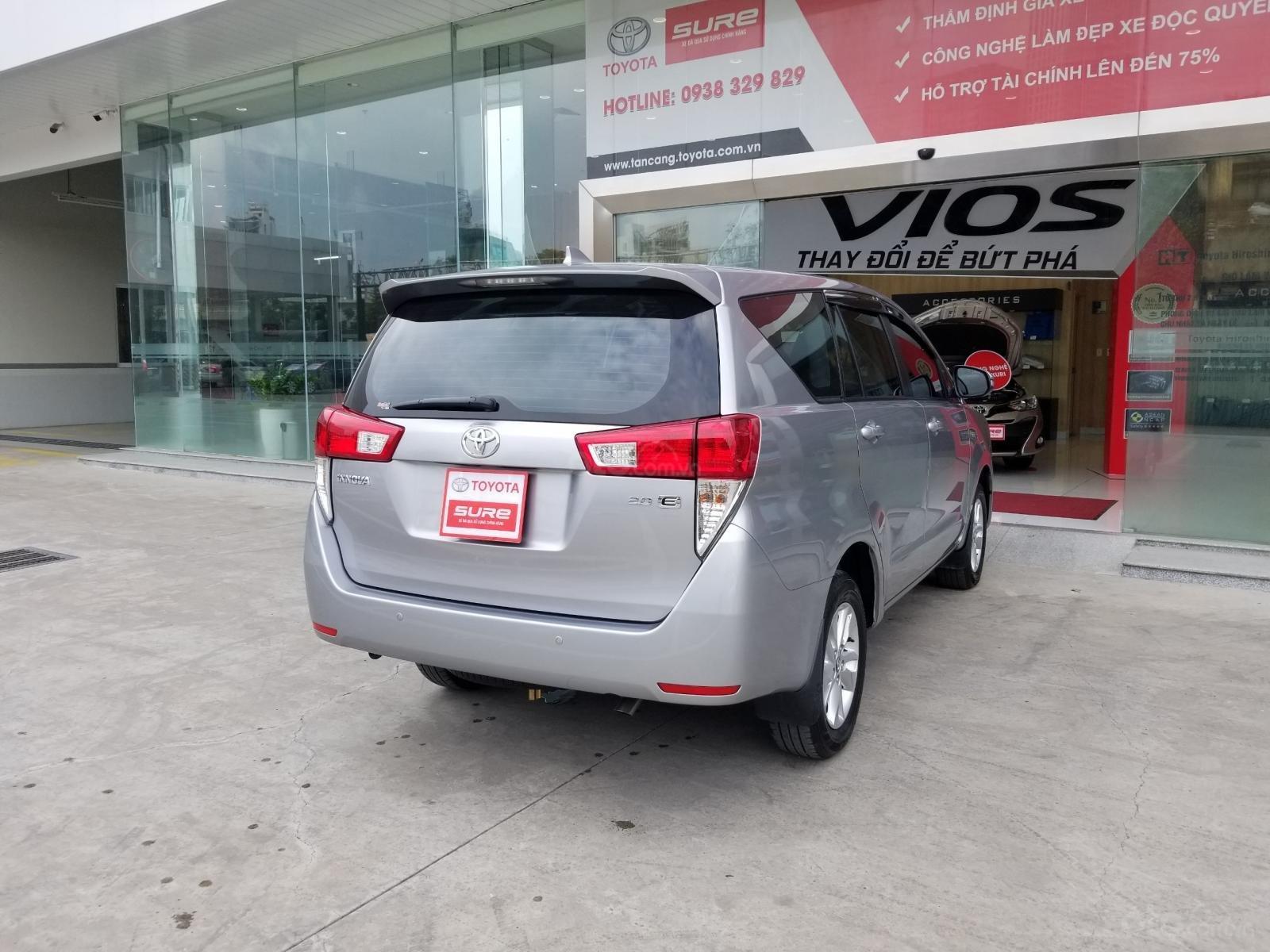 Cần bán xe Toyota Innova 2.0E 2019, màu bạc, xe gia đình HCM đi 45.000km - Xe chất giá tốt (5)