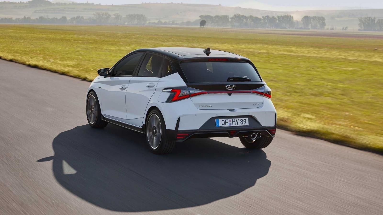 Hyundai i20 N Line 2021 sở hữu nhiều thay đổi ấn tượng.