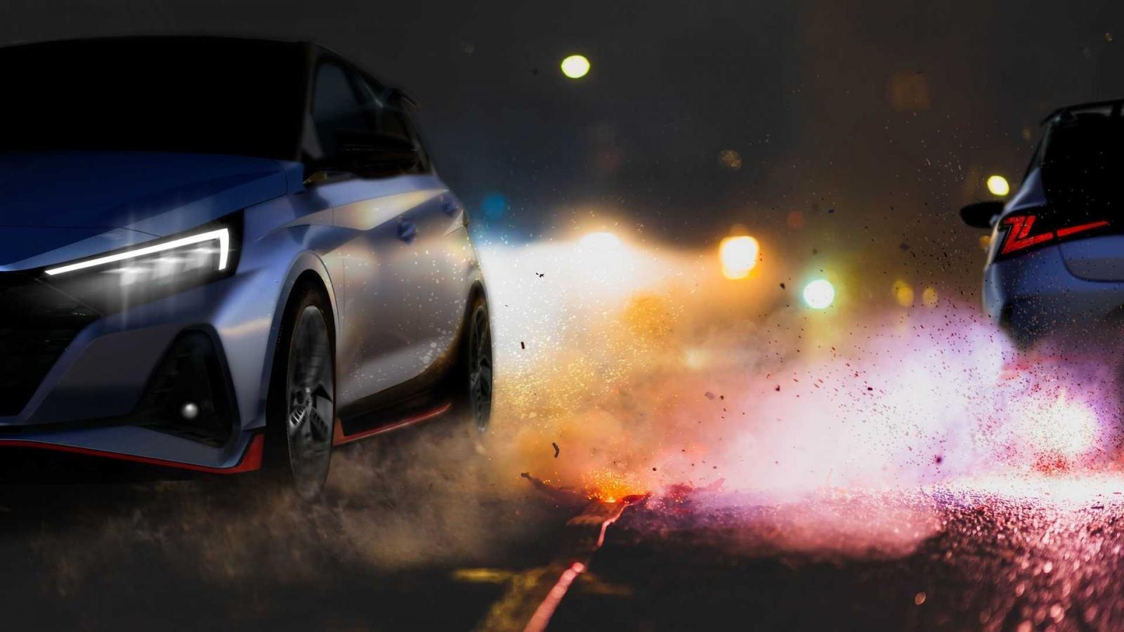 Hyundai i20 N Line 2021 ra mắt, sẵn tay nhá hàng Hyundai i20 N 2021.
