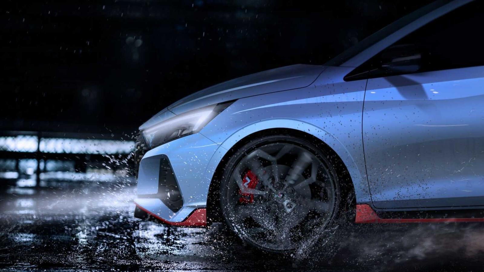 Hyundai i20 N 2021 nhá hàng với nhiều chi tiết cuốn hút.