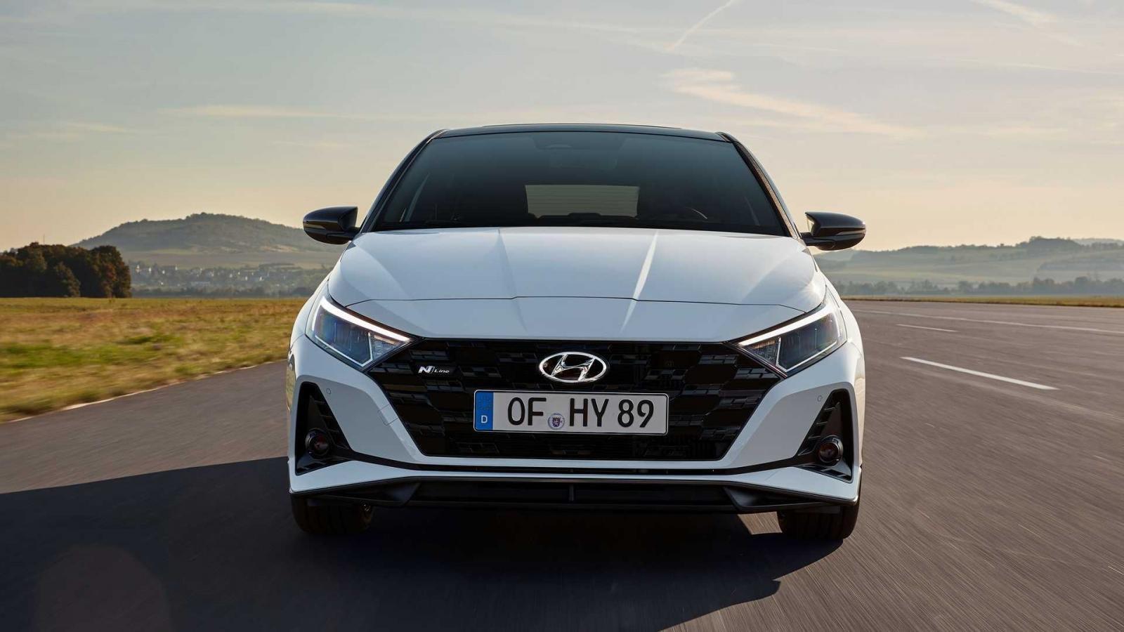 Hyundai i20 N Line 2021 làm các tay lái rạo rực.