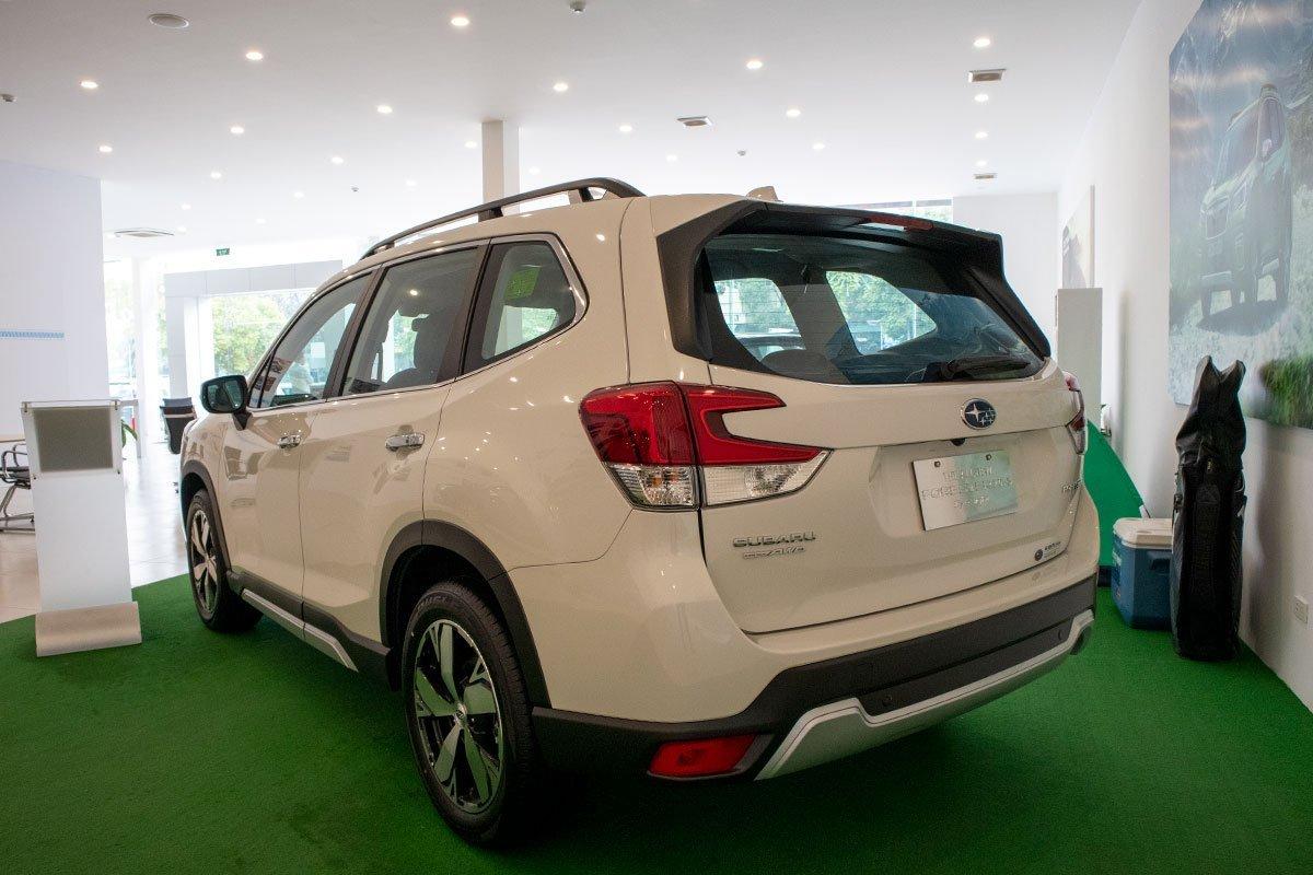 Thiết kế ngoại thất Subaru Forester.