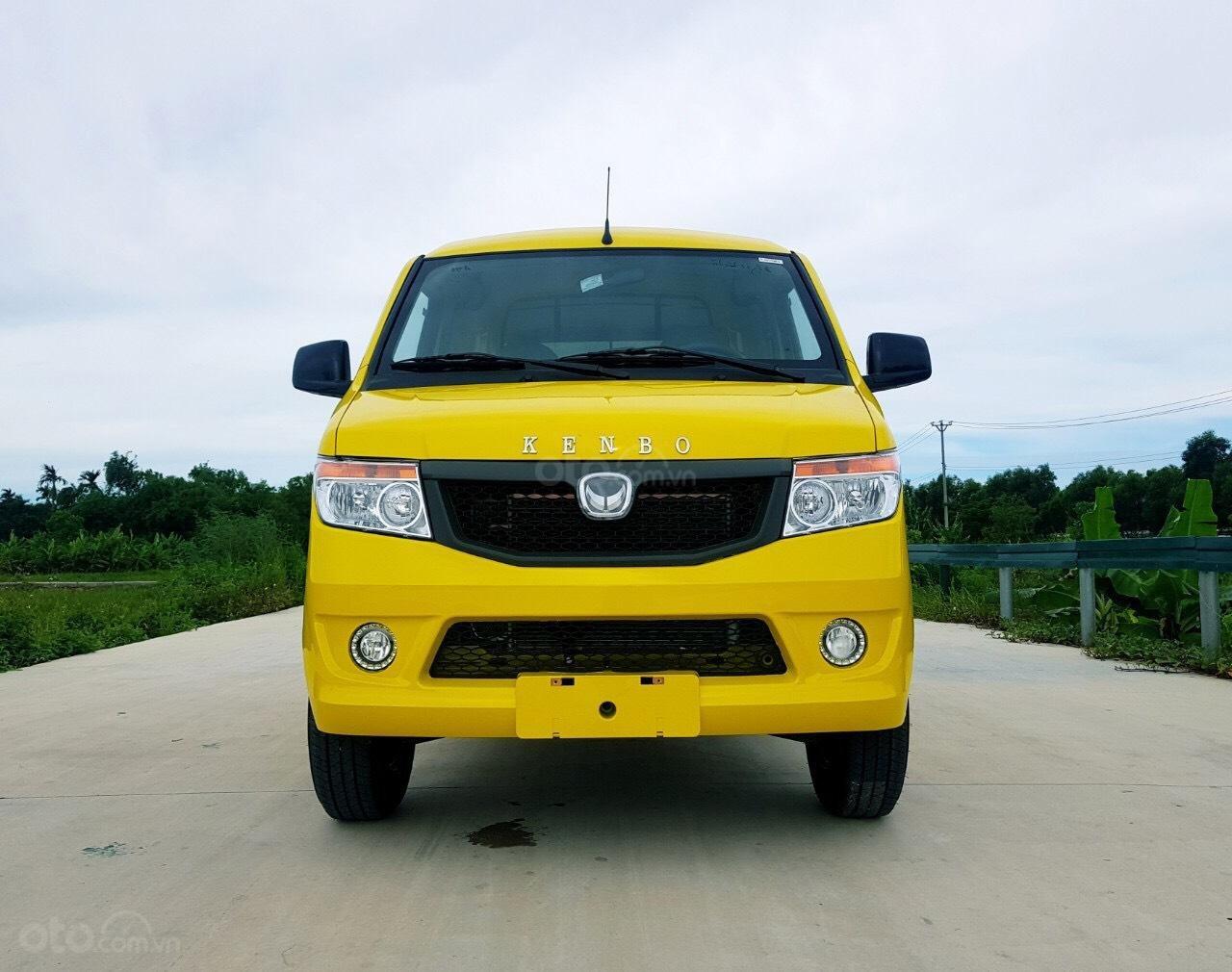 Xe tải Van Kenbo 2 chỗ tải trọng 945kg vào phố 24/24 (1)
