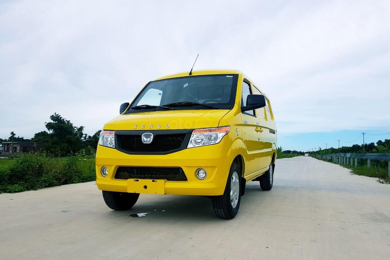 Xe tải Van Kenbo 2 chỗ tải trọng 945kg vào phố 24/24 (2)