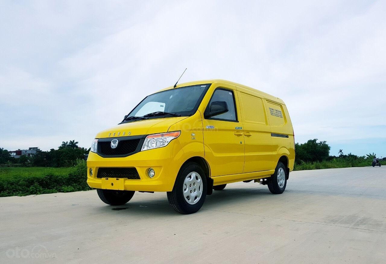 Xe tải Van Kenbo 2 chỗ tải trọng 945kg vào phố 24/24 (3)