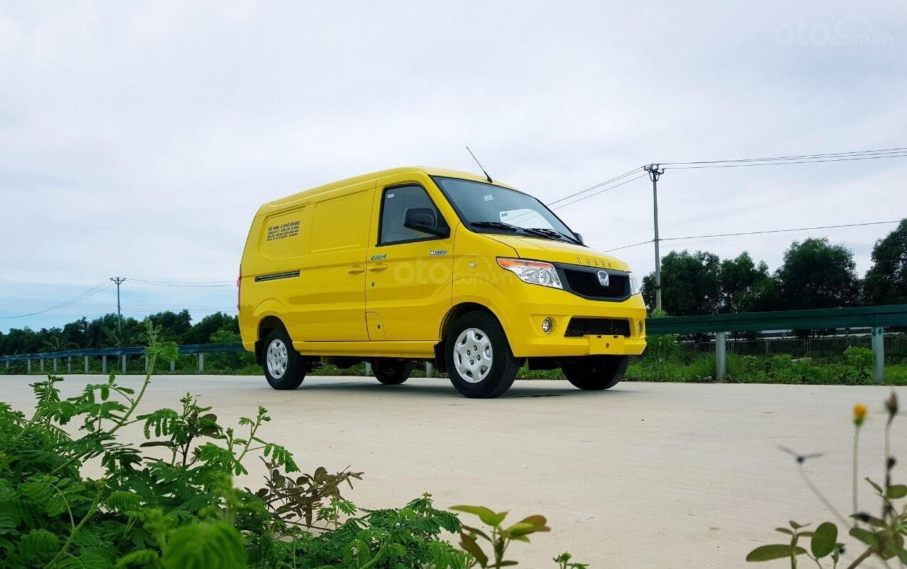 Xe tải Van Kenbo 2 chỗ tải trọng 945kg vào phố 24/24 (5)
