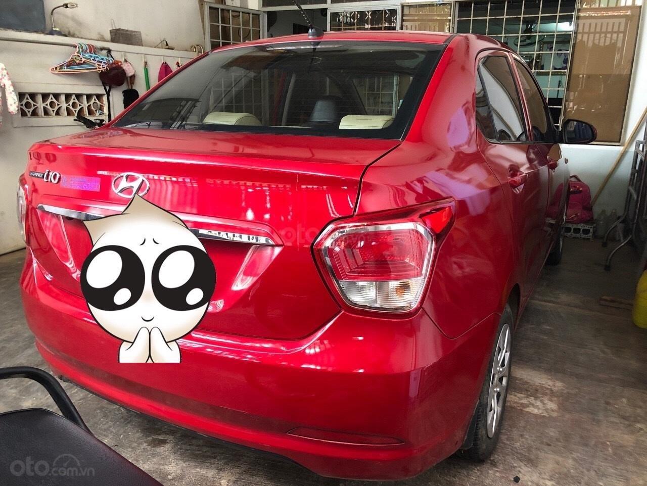 Chính chủ cần bán nhanh xe Hyundai Grand i10 1.2 LT, màu đỏ, 285 triệu (2)