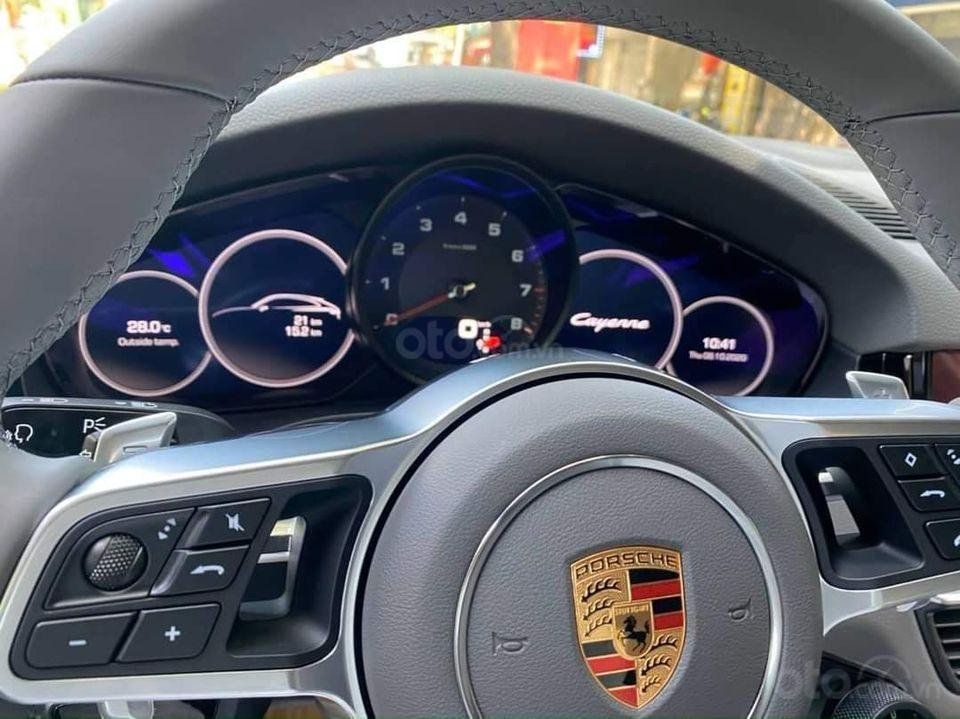 Bán Porsche Cayenne sản xuất 2020, màu trắng, nhập khẩu chính chủ (6)