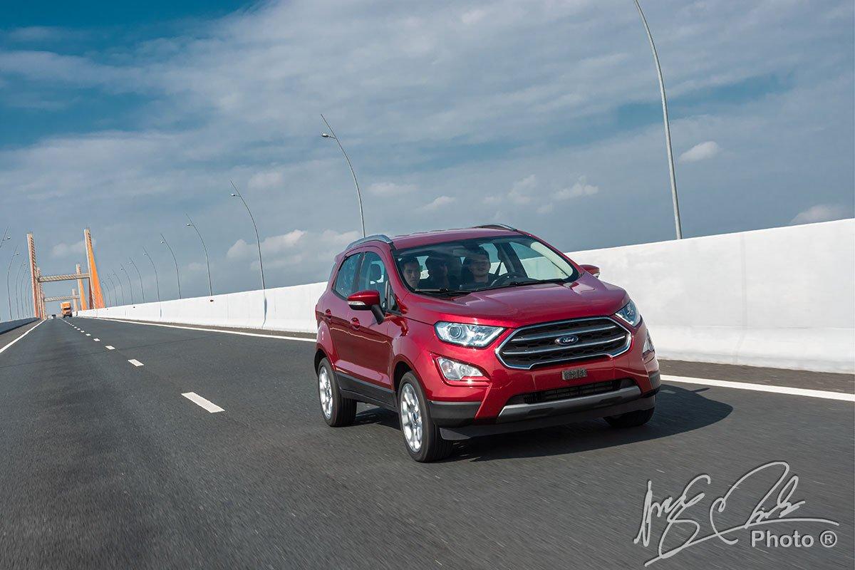 Ford Ecosport 2020 sở hữu động cơ mạnh mẽ hơn bản cũ 1