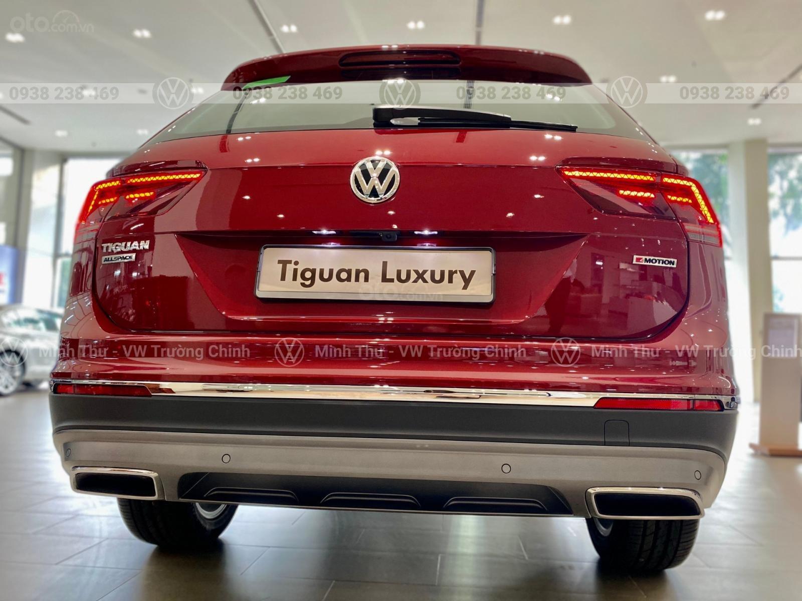 Tiguan allspace Luxury màu đỏ - Giảm 120 triệu tiền mặt + quà tặng từ vw sài gòn - Lái thử tận nhà (9)