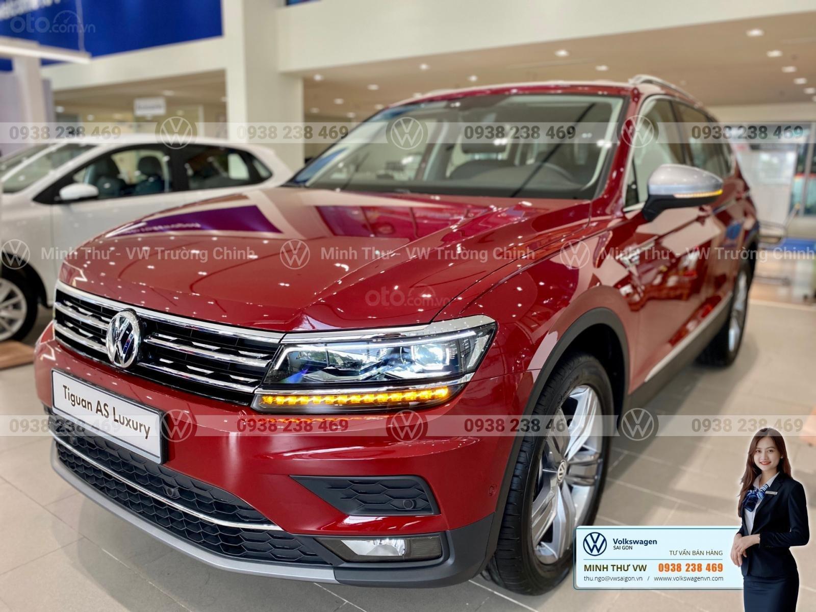 Tiguan allspace Luxury màu đỏ - Giảm 120 triệu tiền mặt + quà tặng từ vw sài gòn - Lái thử tận nhà (13)