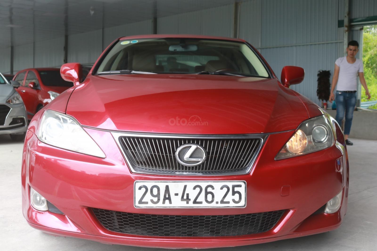 Cần bán xe Lexus LS250 đời 2008, màu đỏ (1)