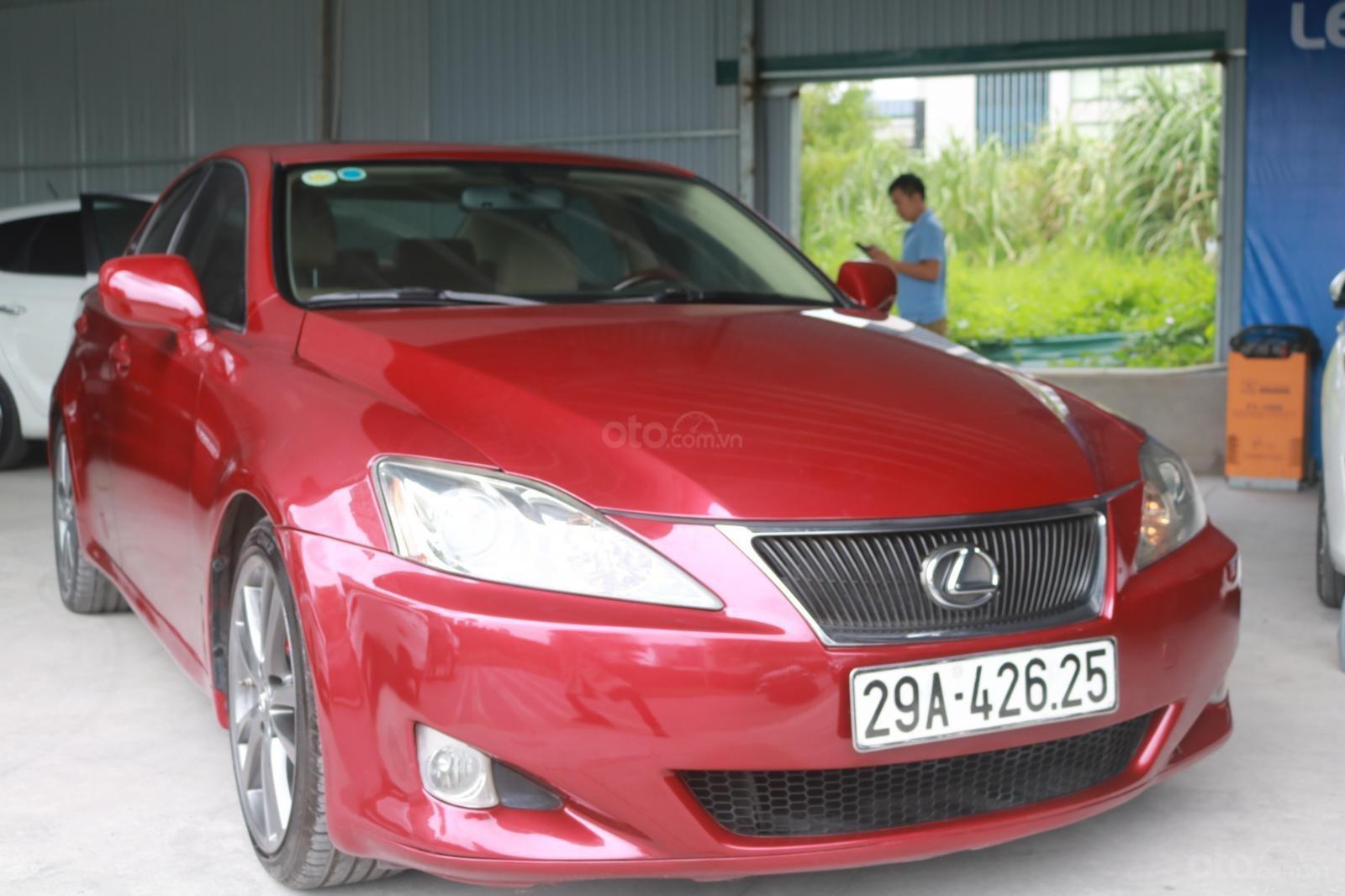 Cần bán xe Lexus LS250 đời 2008, màu đỏ (2)
