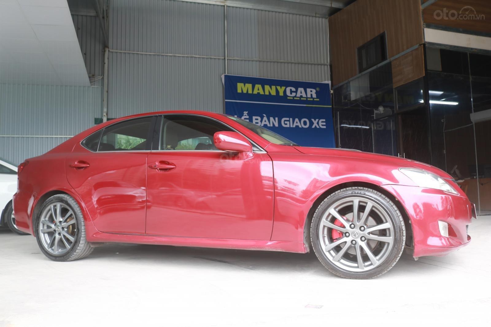 Cần bán xe Lexus LS250 đời 2008, màu đỏ (3)