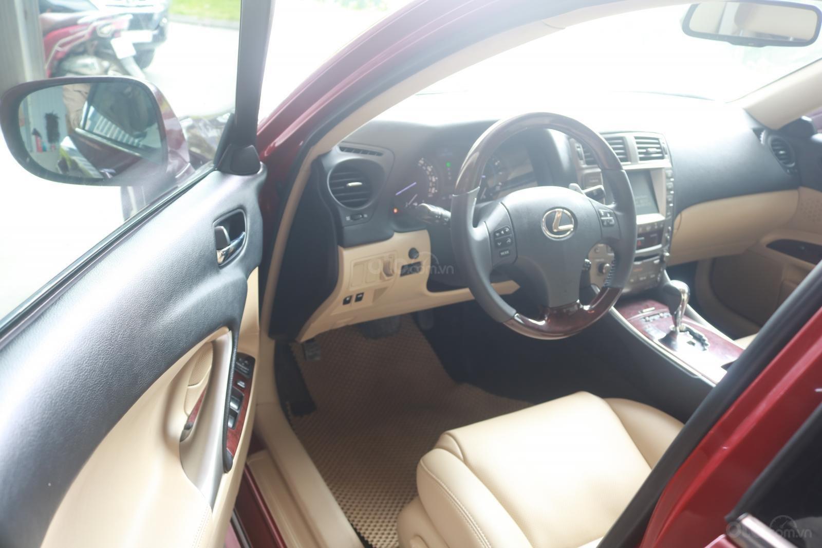 Cần bán xe Lexus LS250 đời 2008, màu đỏ (7)