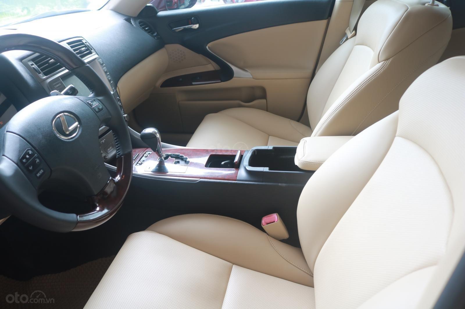 Cần bán xe Lexus LS250 đời 2008, màu đỏ (8)
