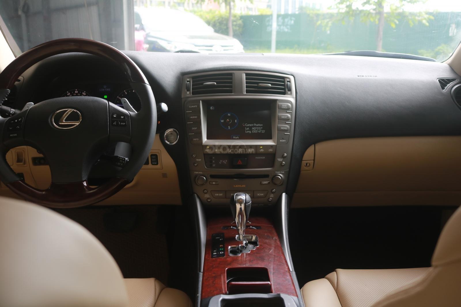 Cần bán xe Lexus LS250 đời 2008, màu đỏ (10)