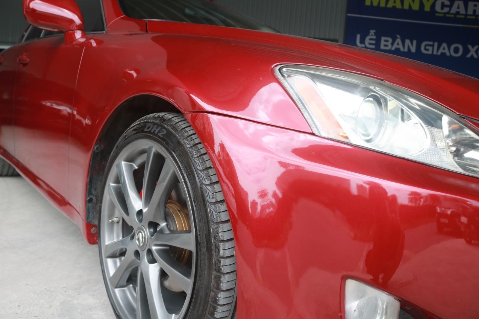 Cần bán xe Lexus LS250 đời 2008, màu đỏ (12)