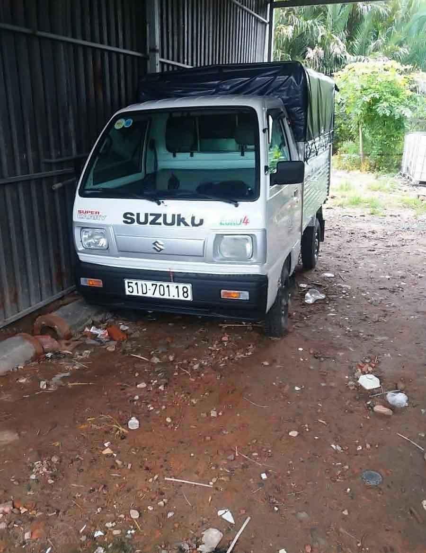 Bán Suzuki Super Carry Truck năm sản xuất 2020, màu trắng, chính chủ  (1)
