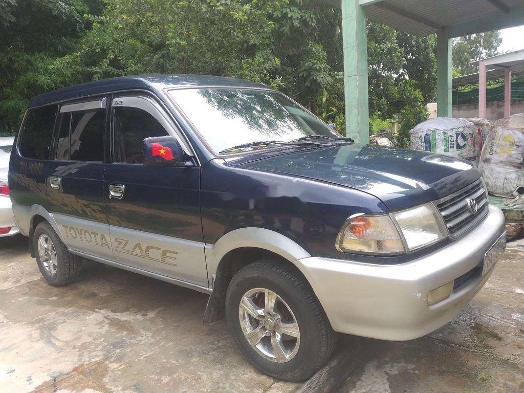 Bán Toyota Zace sản xuất năm 2001, màu xanh lam, xe nhập, 157tr (2)