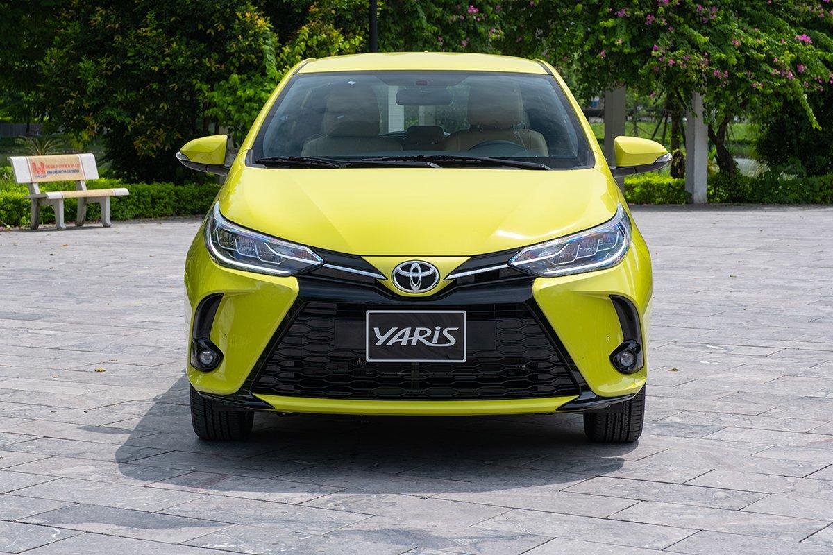 Thiết kế ngoại thất Toyota Yaris 2021.