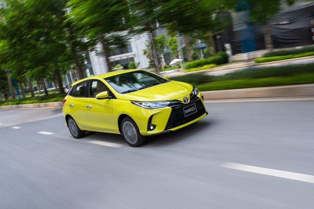 Giá lăn bánh xe Toyota Yaris 2020, cao nhất phân khúc hatchback hạng B tại Việt Nam a1