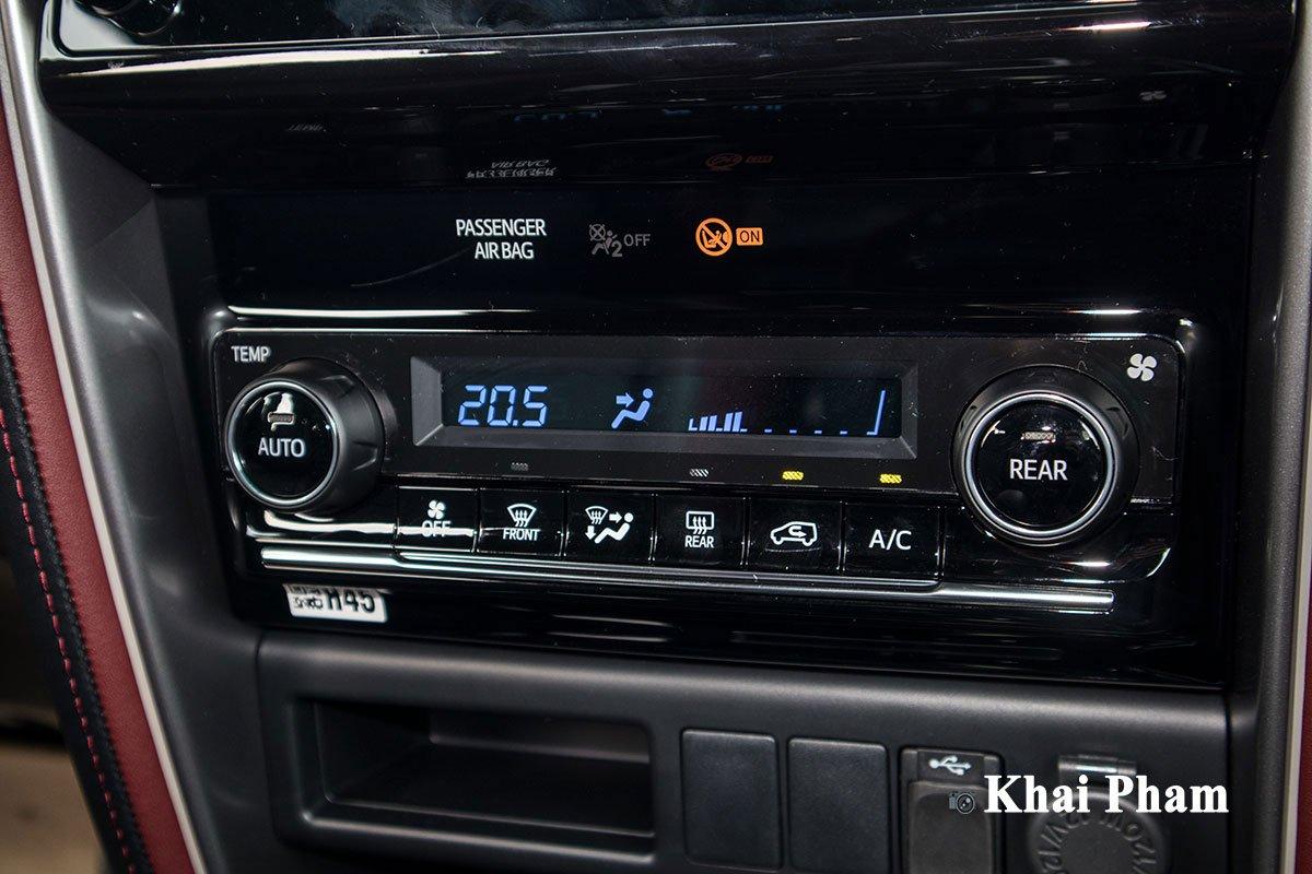 Ảnh Điều hòa tự động xe Toyota Fortuner Legender 2020