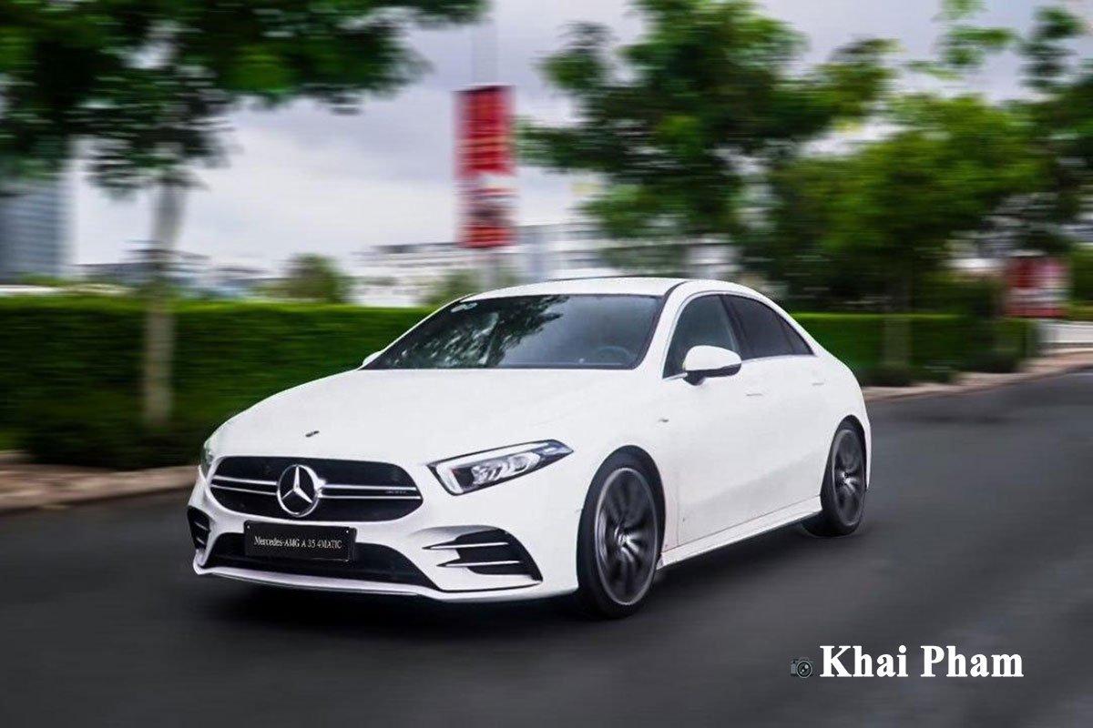 Ảnh Vận hành xe Mercedes-Benz A35 AMG 2020