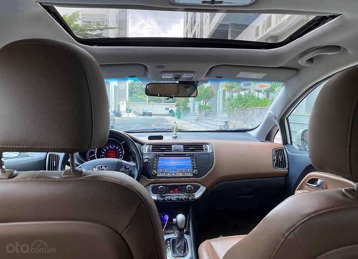 Bán ô tô Kia Rio đời 2015, màu trắng, nhập khẩu nguyên chiếc   (3)