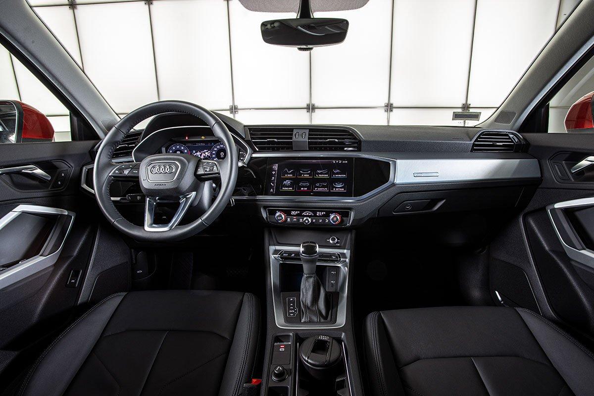 Nội thất của Audi Q3 Sportback.