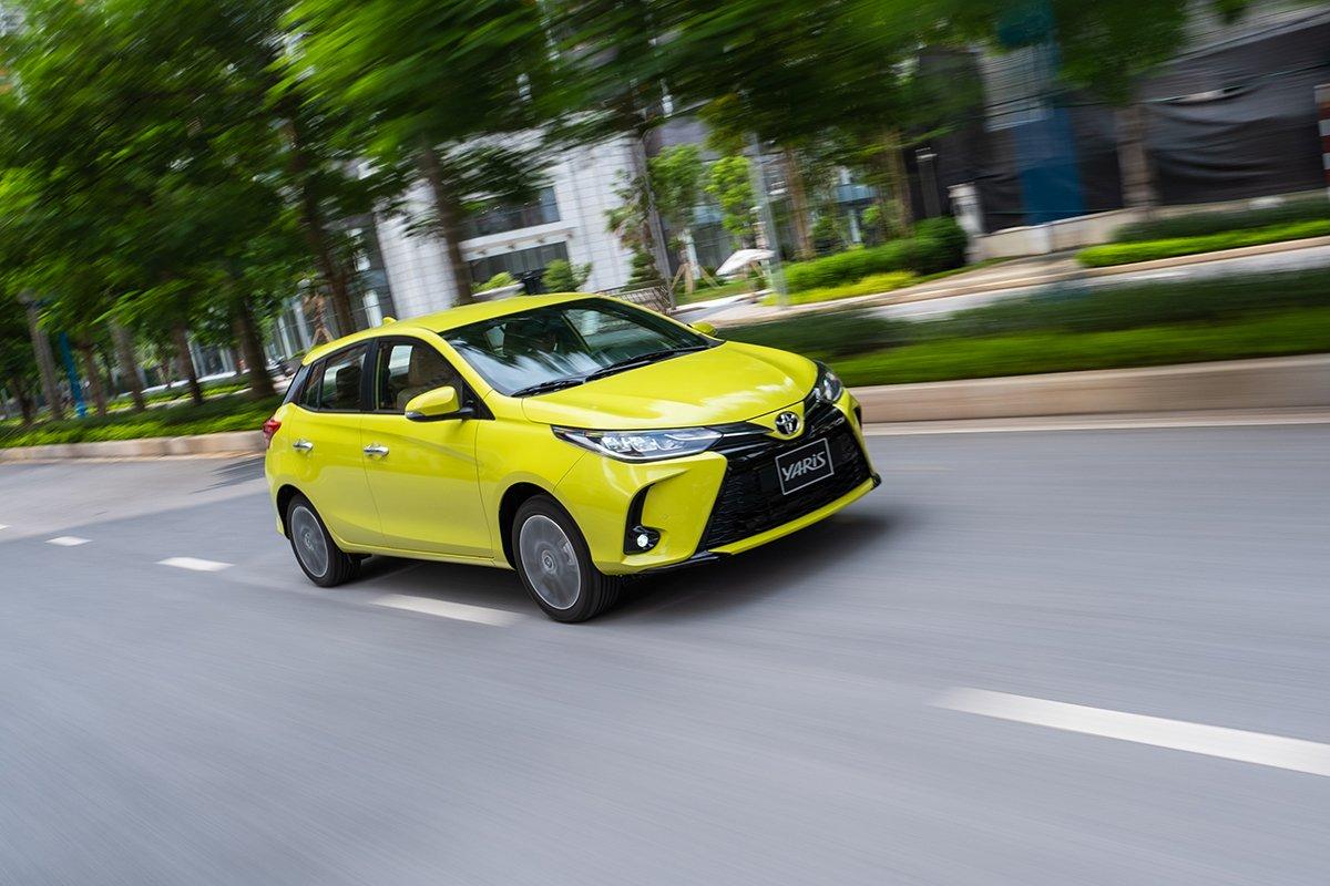 Động cơ xe Toyota Yaris 2021 đạt sức mạnh đến 107 mã lực.