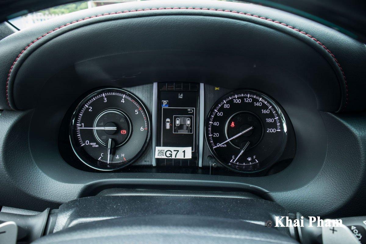 Ảnh Đồng hồ xe Toyota Fortuner Legender 2020  a1