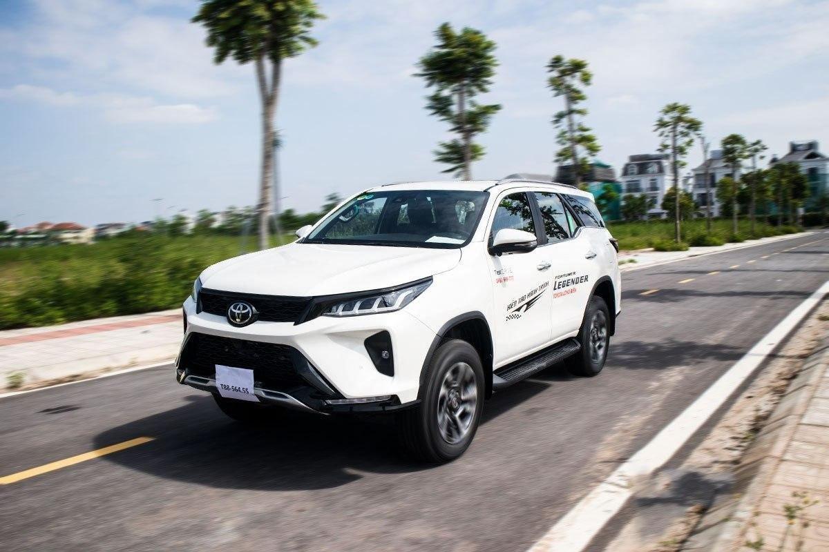 Ảnh Vận hành độ xe Toyota Fortuner Legender 2020 1a