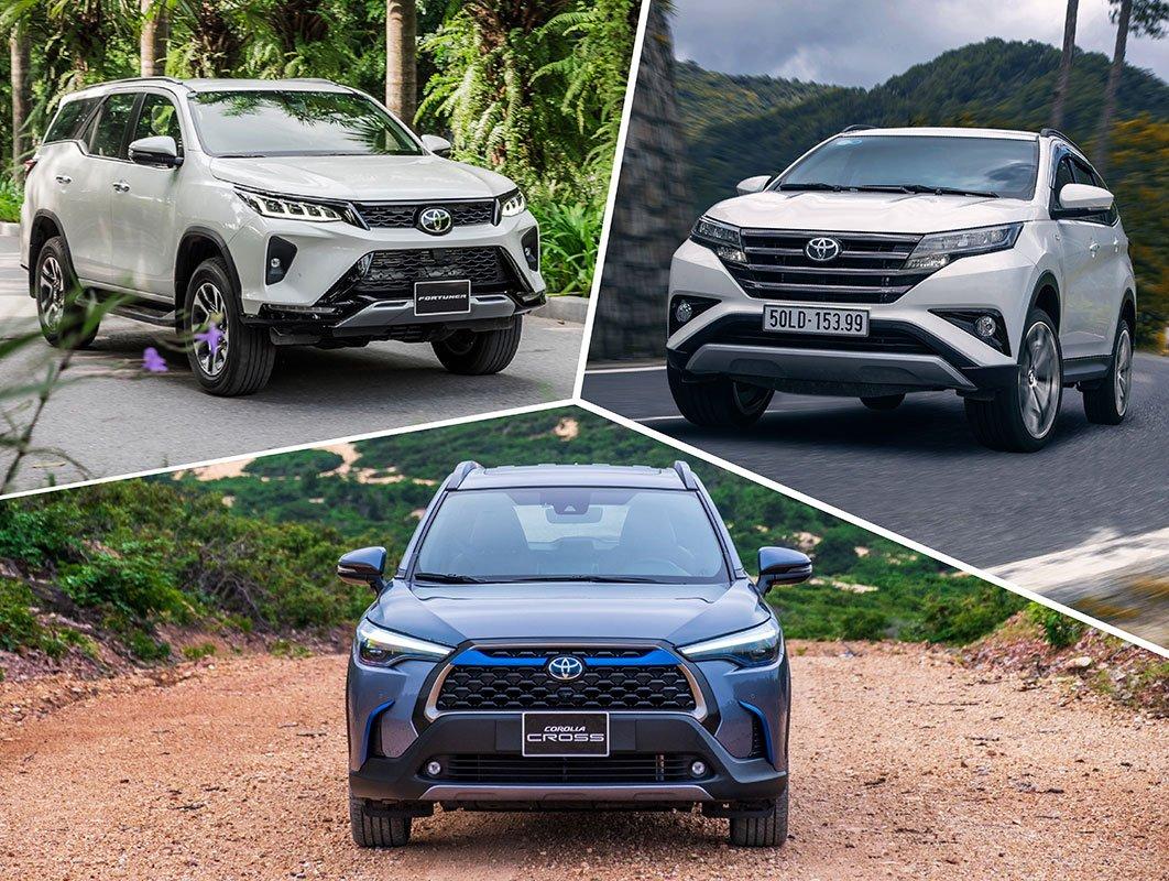 Toyota Fortuner, Corolla Cross và Rush, tái định hình phong cách chọn xe SUV của người Việt a1